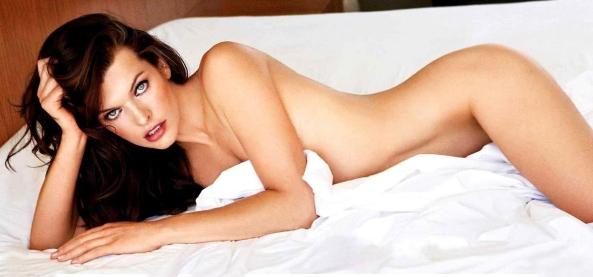 Sexy Naked Milla Jovovich