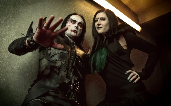 Dani Filth and Lindsay Schoolcraft