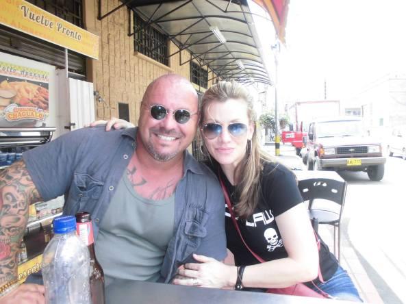 Sebastian Van Vrey and Phyllis Spielman
